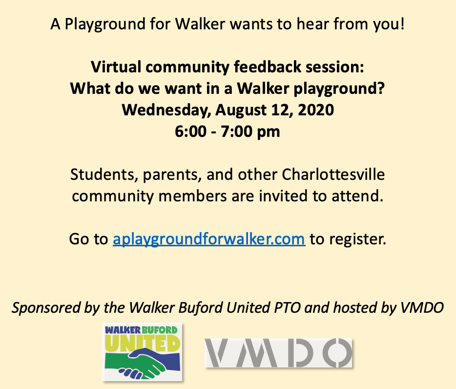 Community feedback session Aug 2020